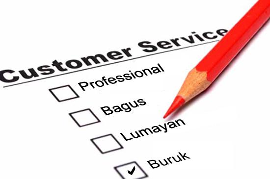 Customer Service Yang Buruk