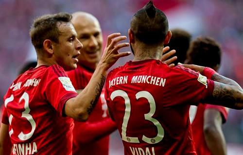 Bayern Munich Menampakkan Cakarnya Pada Laga Kandang