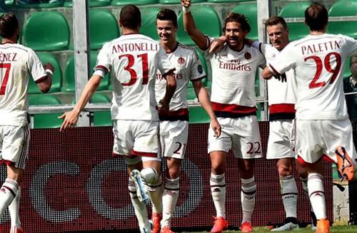Milan Dianggap Beruntung Pada Laga Serie A