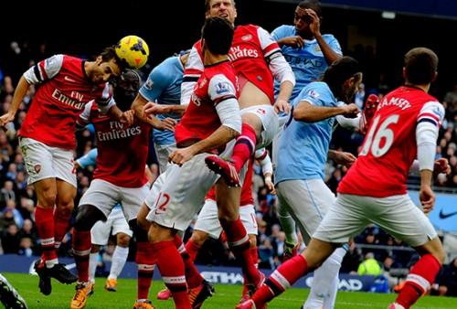 Persaingan City dan Arsenal Kian Memanas