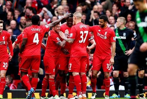 Walau Melakukan Rotasi Pemain Liverpool Menang 4 – 1 Atas Stoke City