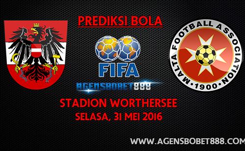 Laga Uji Coba - Prediksi Austria vs Malta 31 Mei 2016