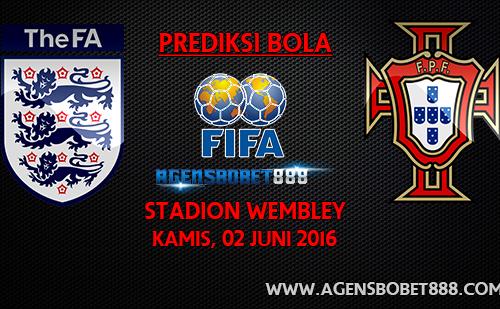 Laga Uji Coba - Prediksi Inggris vs Portugal 2 Juni 2016