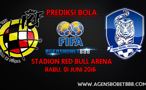 Laga Uji Coba - Prediksi Spanyol vs Korea Selatan 1 Juni 2016