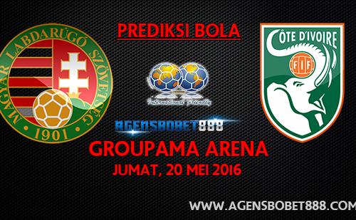Laga Uji Coba Prediksi Hungaria vs Pantai Gading 20 Mei 2016